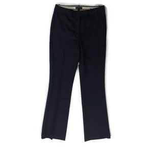 J Crew Navy Wool Stretch Preston Pants Trousers